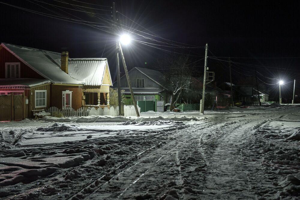 Wieś Bieriozowka w obwodzie tomskim
