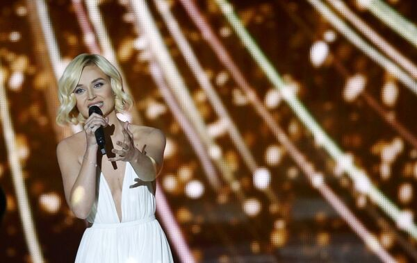 Polina Gagarina (Rosja) z piosenką A Million Voices w finale Eurowizji-2015 - Sputnik Polska