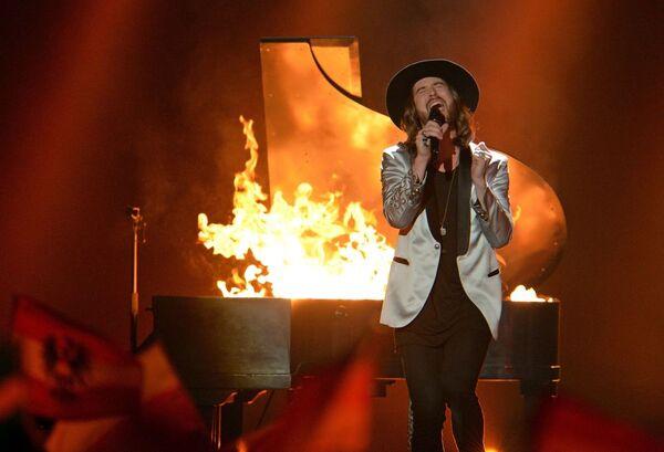 Zespoł The Makemakes  z piosenką I Am Yours repreztuje Austrię w finale Eurowizji-2015 - Sputnik Polska