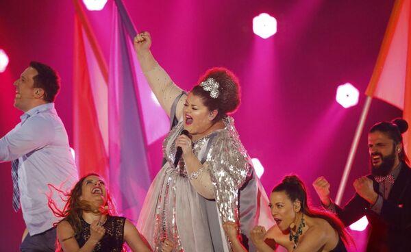 Bojana Stamenov z Serbii - bomba Eurowizji-2150 - Sputnik Polska