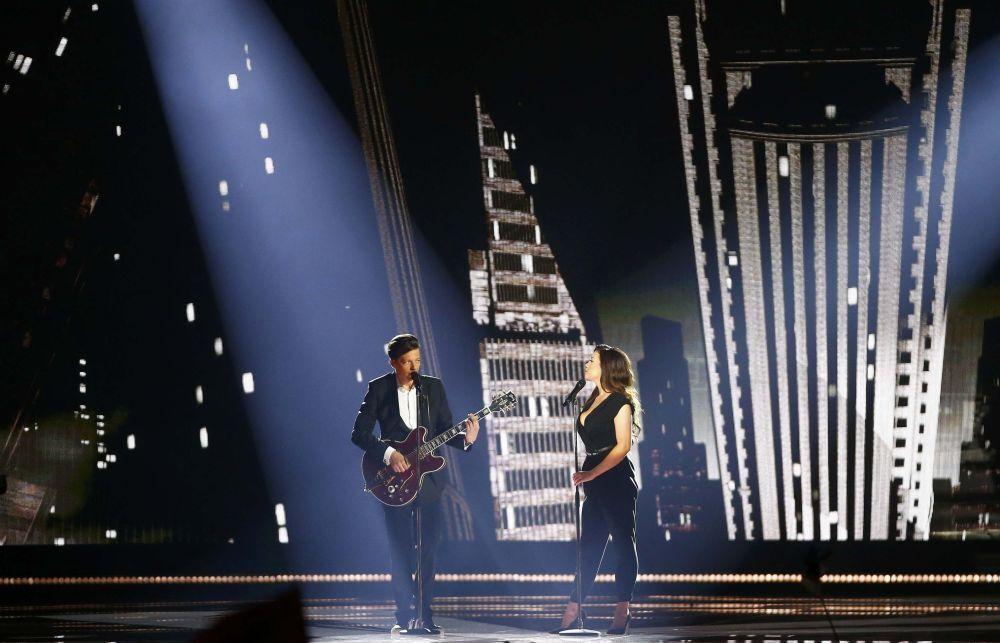 Elina Born i Stig Rasta z piosenką  Goodbye To Yesterday reprezentują Estonię