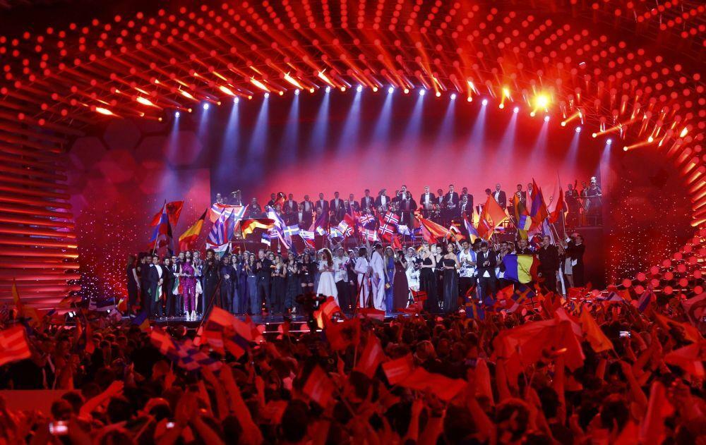 Wszyscy uczestnicy finału Eurowizji-2015