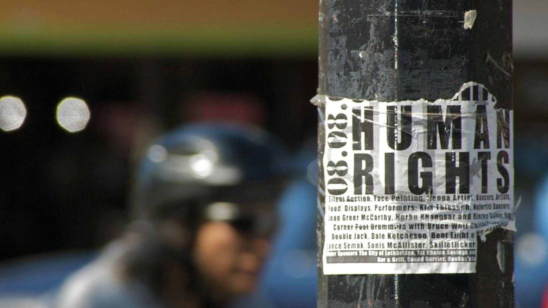 Prawa człowieka - Sputnik Polska, 1920, 20.06.2021