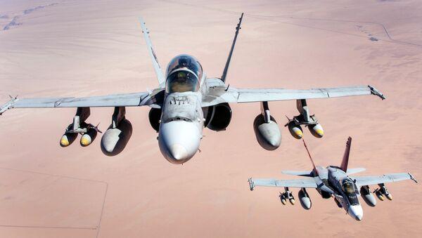 F-18 Hornet - Sputnik Polska
