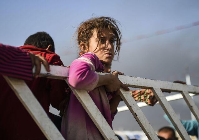 Obóz dla uchodżców, Mosul