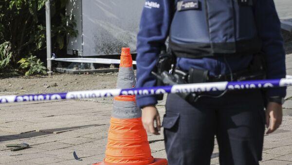 Policja. Bruksela - Sputnik Polska