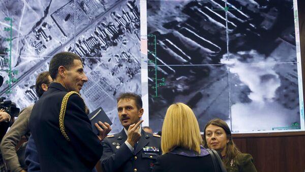 Briefeng w Ministerstwie Obrony Rosji - Sputnik Polska