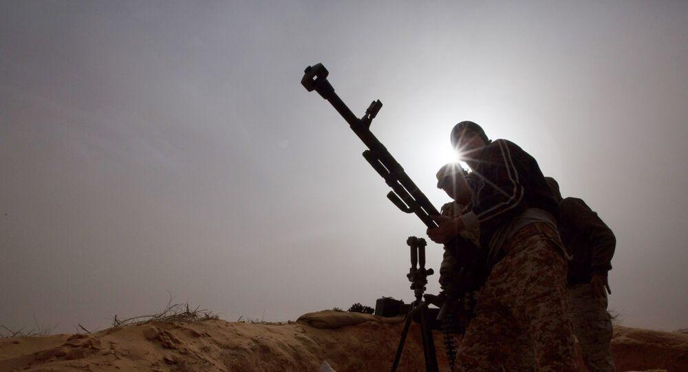 Żołnierze armii libijskiej