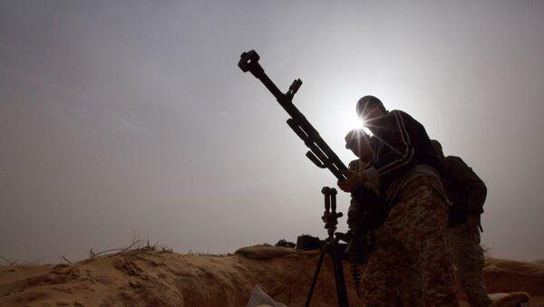 Żołnierze armii libijskiej - Sputnik Polska