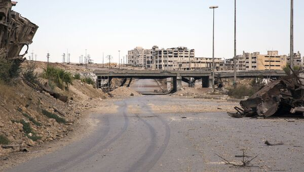 Korytarz humanitarny w syryjskim Aleppo - Sputnik Polska