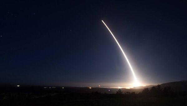 Próba międzykontynentalnej rakiety balistycznej Minuteman III w USA - Sputnik Polska