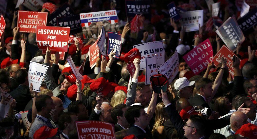 Zwolennicy Donalda Trumpa