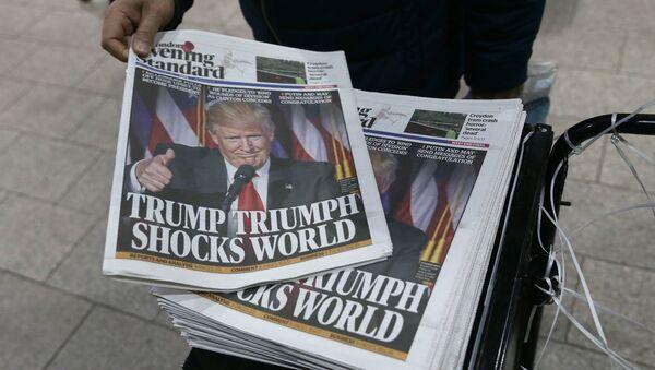 Wygrana Trumpa zszokowała świat - Sputnik Polska
