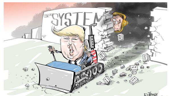 Donald Trump został 45. prezydentem USA - Sputnik Polska