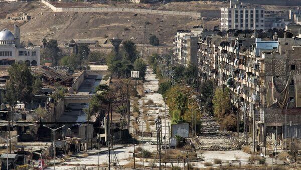 Widok na Aleppo, Syria - Sputnik Polska