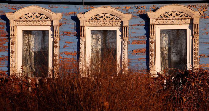 Na północnej Rusi zawsze budowano drewniane domy. I wcale nie było to związane z brakiem umiejętności budowania z kamienia.
