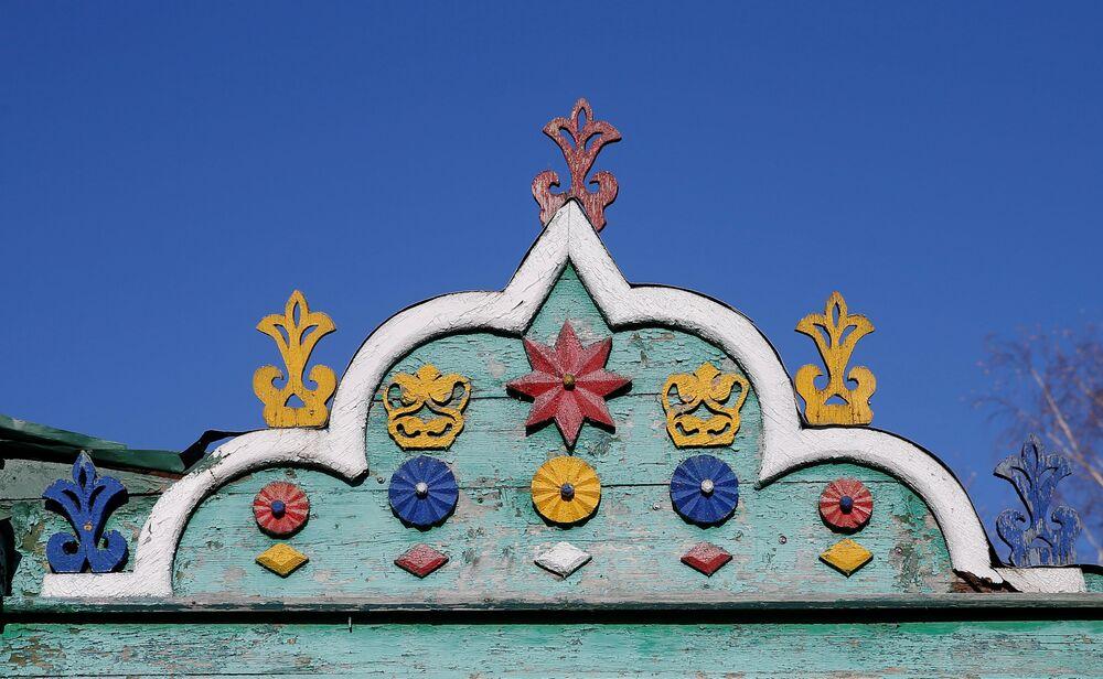Każda budowla na Rusi, od zwykłej izby po świątynię, była zdobiona rzeźbieniem.