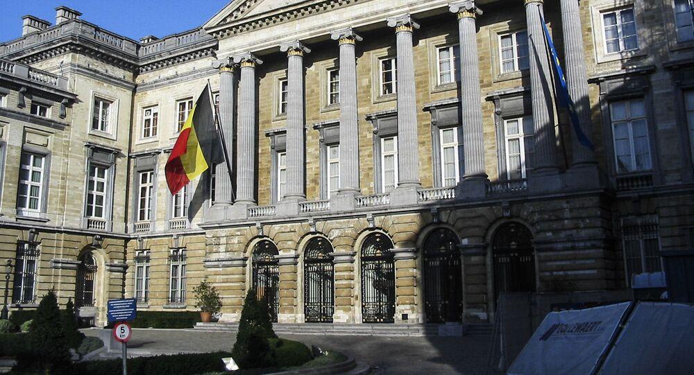 Siedziba Parlamentu Federalnego Belgii