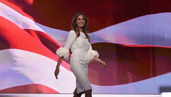 Melania Trump - Sputnik Polska
