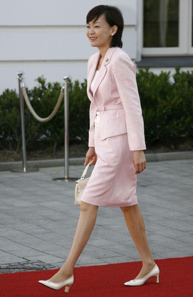 Żona premiera Japonii Akie Abe