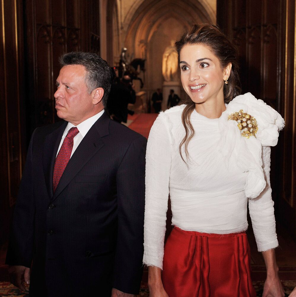 Królowa Jordanii Rania al-Abd Allah