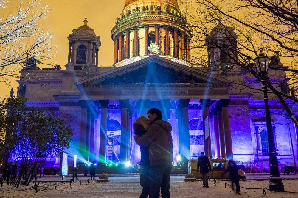Show multimedialne w Petersburgu