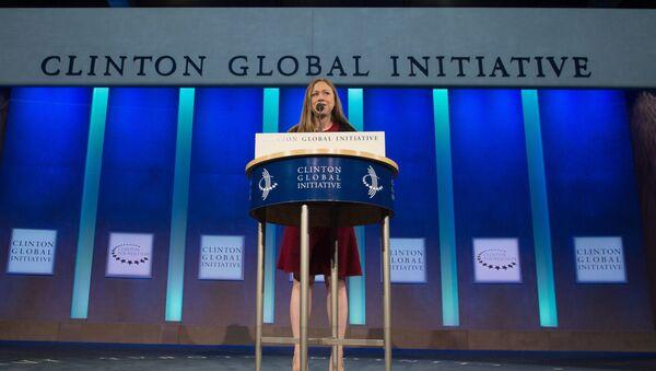 Zastępca przewodniczącego fundacji Clinton Foundation Chelsea Clinton - Sputnik Polska