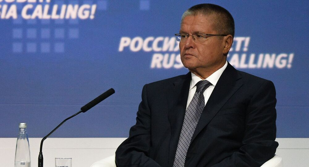 Minister rozwoju gospodarczego FR Aleksiej Uljukajew