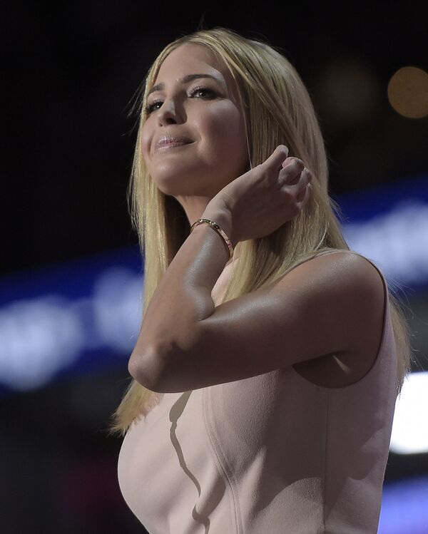 Ivanka Trump zaczęła zarabiać dość wcześnie. Pierwsze honorarium córka miliardera zarobiła jako modelka. - Sputnik Polska