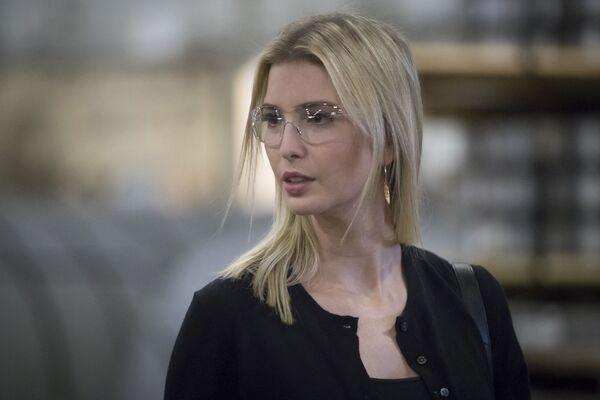Ivanka Trump - była modelka, a obecnie bizneswoman. Uważa się, że ma duży wpływ na ojca. - Sputnik Polska