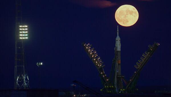 Superksiężyc na kosmodromie Bajkonur - Sputnik Polska