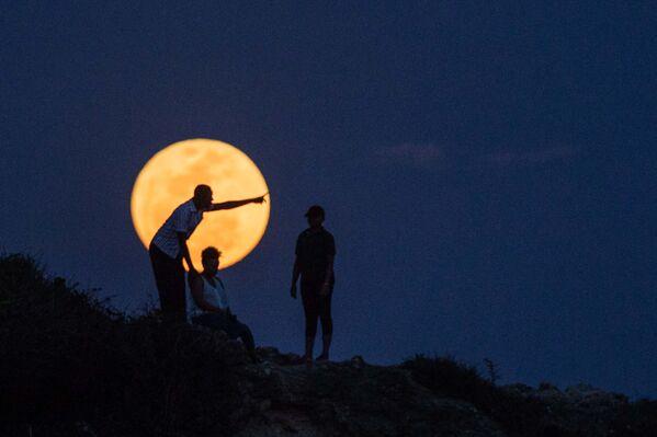 Superksiężyc w Tanzanii - Sputnik Polska