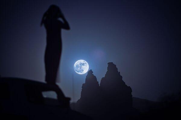 Superksiężyc w Arabii Saudyjskiej - Sputnik Polska