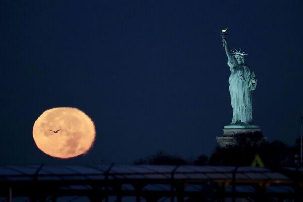 Superksiężyc w USA - Sputnik Polska