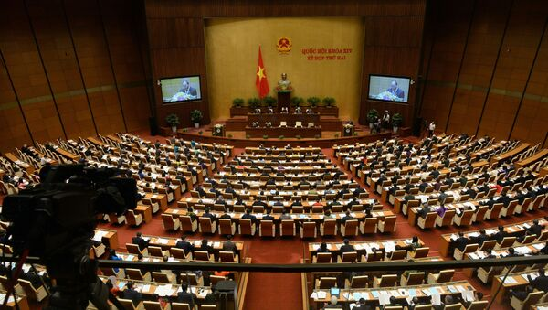 Posiedzenie wietnamskiego Parlamentu - Sputnik Polska