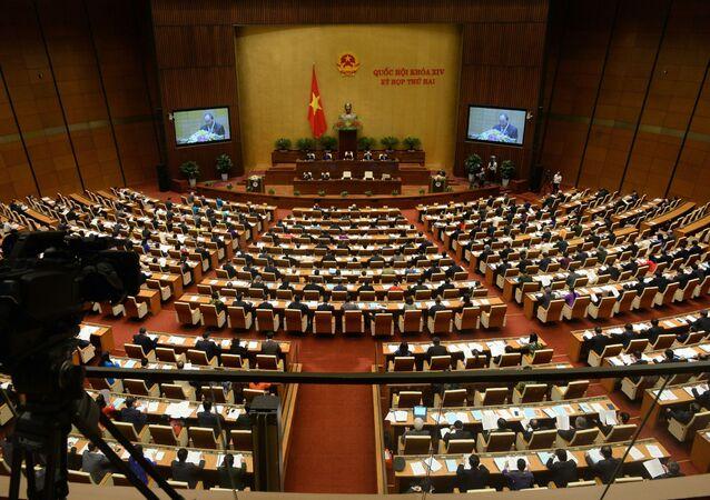 Posiedzenie wietnamskiego Parlamentu