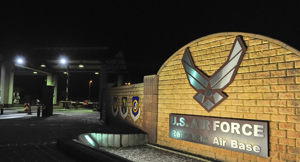 Amerykańska baza Ramstein Air Base w Niemczech