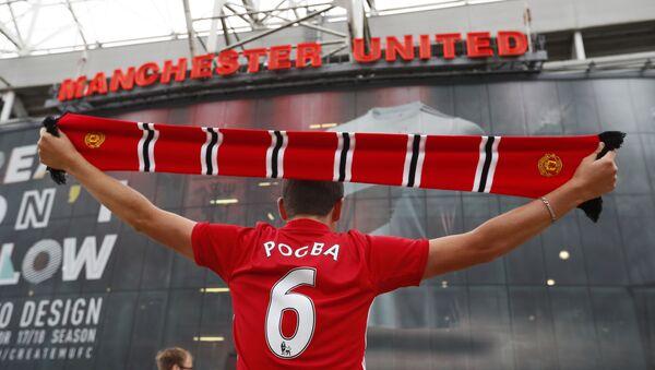 Kibic Manchesteru United - Sputnik Polska