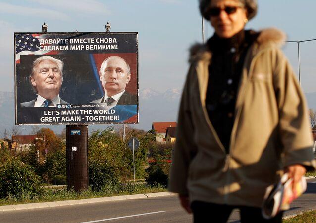W trakcie kampanii wyborczej Donald Trump obiecywał znaczne ocieplenie stosunków z Kremlem