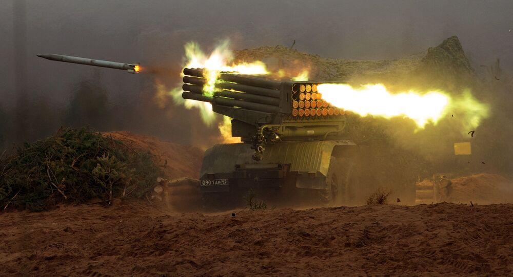 Polowa wyrzutnia rakietowa BM-21 Grad
