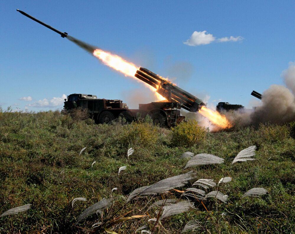 System artylerii rakietowej BM-27 Uragan