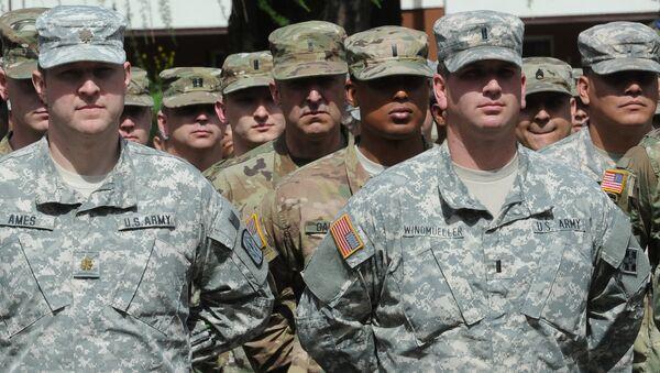 Żołnierze USA - Sputnik Polska