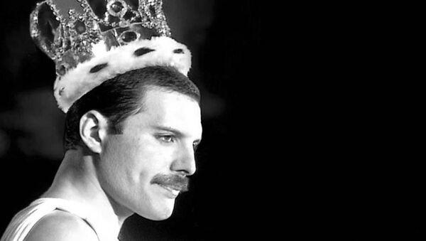 Wokalista zespołu Queen Freddie Mercury. - Sputnik Polska
