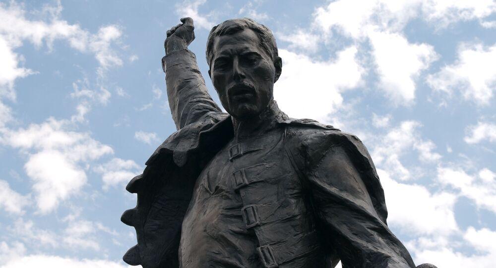 Pomnik Freddiego Mercury w Montreux