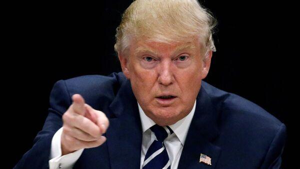 Prezydent elekt USA Donald Trump - Sputnik Polska