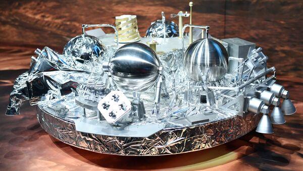 Modelka sondy marsjańskiej Schiaparelli - Sputnik Polska
