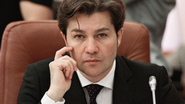 Minister kultury Ukrainy Jewhenij Niszczuk - Sputnik Polska