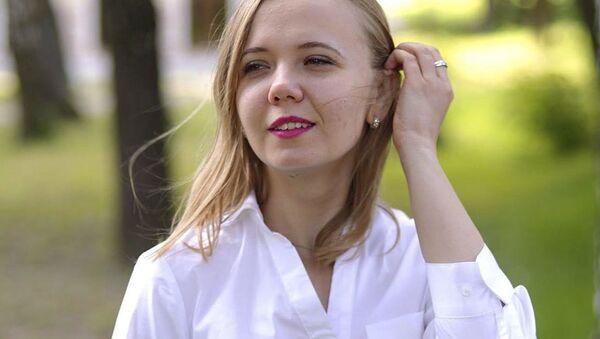 Pracownica Ministerstwa Sprawiedliwości Ukrainy Anna Kalinczuk - Sputnik Polska