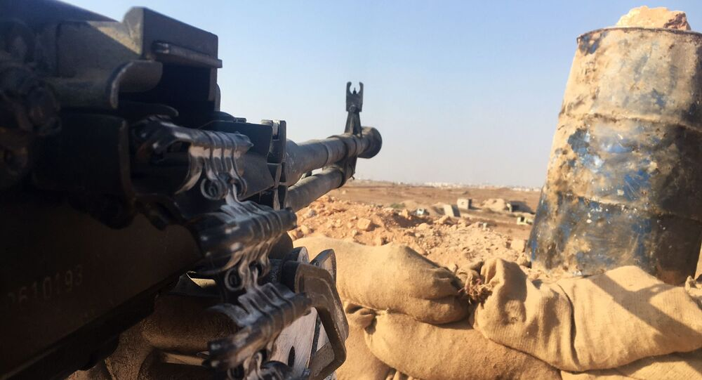 Wczoraj syryjska armia przez cały dzień ostrzeliwała pozycje terrorystów w Masaken Hanano