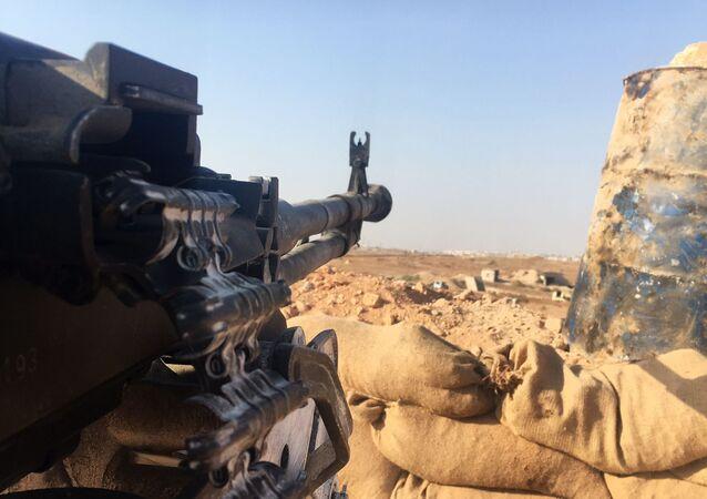 Pozycje syryjskiej armii